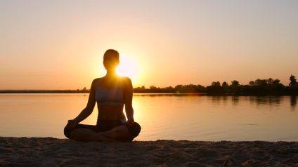 lány medit